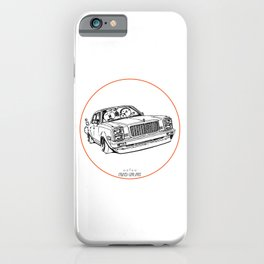 Crazy Car Art 0203 iPhone Case