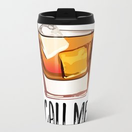Alcohol Gift,Old Fashioned,Fashionista Party Decoration,Man cave,Gift For Husband,Call Me Old Travel Mug