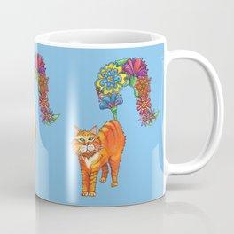 Classy Cat Chloe (Blue) Coffee Mug