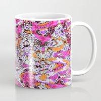 fringe Mugs featuring Fringe by Ingrid Padilla