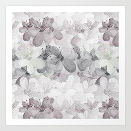 Waterflowers Art Print