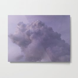 Purple Clouds Metal Print