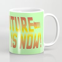 marty mcfly Mugs featuring Marty Mc 360Flip by Jon Osés