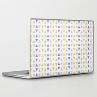 southwest Laptop & iPad Skins featuring Southwest Triangles by Kara Peters