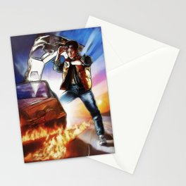 Back To The Future -Ink n Painted Stationery Cards