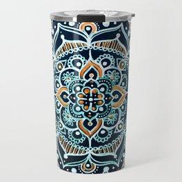 Bohemian Zen Mandala Travel Mug