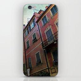 windows of Cinque Terre iPhone Skin
