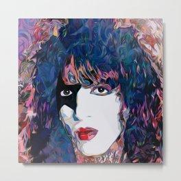 Kiss My Paul Metal Print