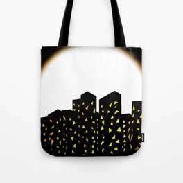 city people dont turn out their lights Tote Bag