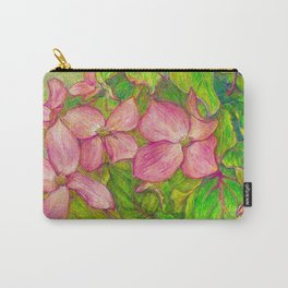 Satomi Dogwood, Pencil Sketch Carry-All Pouch