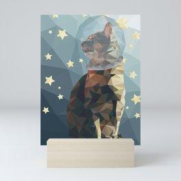 Space Cat. Mini Art Print