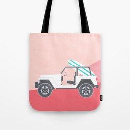 SAFARI BEACH Tote Bag