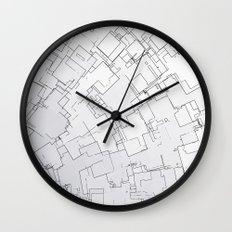 Plan abstract Wall Clock