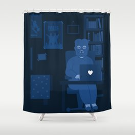 Hacking Sony Shower Curtain