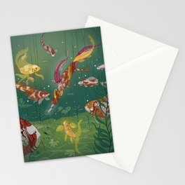 Ukiyo-e tale: The magic pen Stationery Cards