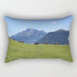 The Austrian Alps Rectangular Pillow