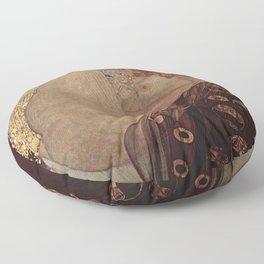 Danae  - Gustav Klimt Floor Pillow