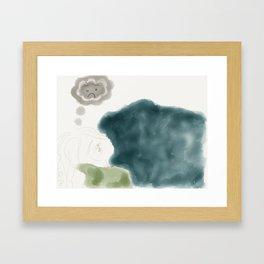 Get Well Soon Framed Art Print