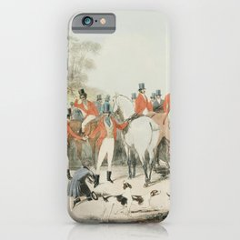 The Marquis at home (plate 1) - Tipperary boys from Moores Tally ho To the sports a set of 4 sportin iPhone Case