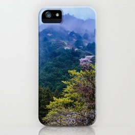 Japanese forest 2 iPhone Case