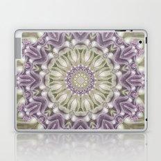 Lilac and Green Mandala Laptop & iPad Skin