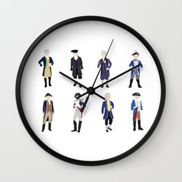 National Confederacy Heroes Day Wall Clock