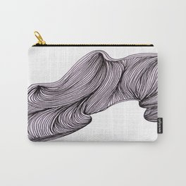 Abstract organic line drawing doodle Carry-All Pouch