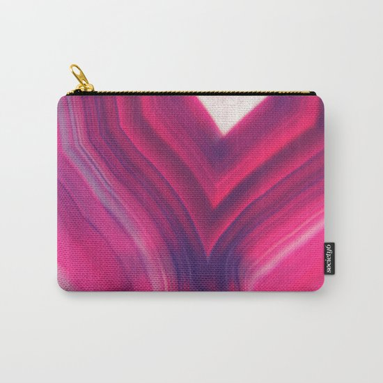Luxury Agate Carry-All Pouch
