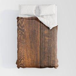 Old wood texture Comforters