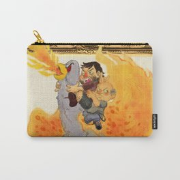 """""""Rize of the Fenix"""" by Virginia McCarthy & Cap Blackard Carry-All Pouch"""