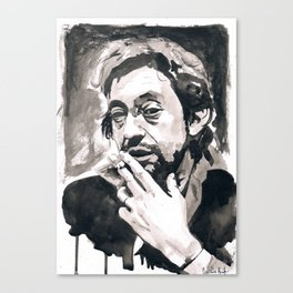 Serge Gainsbourg Canvas Print