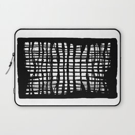 black and white screen Laptop Sleeve