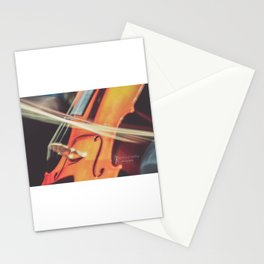 Long Exposure Cello Stationery Cards