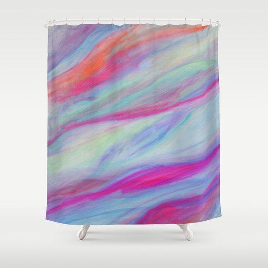 Improvisation 54 Shower Curtain