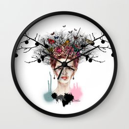 The Little Deer - Frida Kahlo Wall Clock