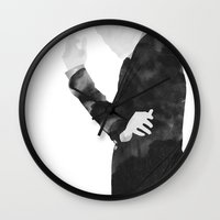 moriarty Wall Clocks featuring Moriarty by daniel