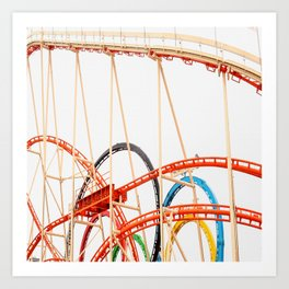 One Way To Have Fun #decor #society6 #buyart Art Print