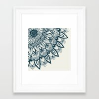 mandala Framed Art Prints featuring Mandala by rskinner1122