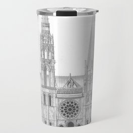 Cathedrale De Chartres Chartres Cathedral Travel Mug