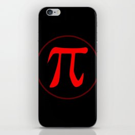 Pi the Constant iPhone Skin