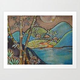 Off The Beaten Path 2 Art Print