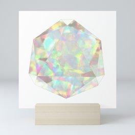 Milky White Opal Mini Art Print