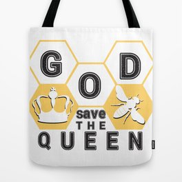 God save the queen_2 Tote Bag