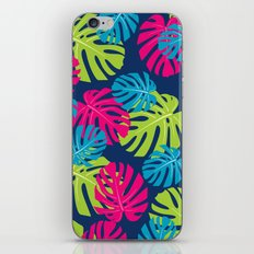 Tropical pattern iPhone & iPod Skin