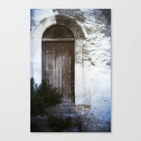 italian Canvas Prints featuring Italian Door by Maria Heyens