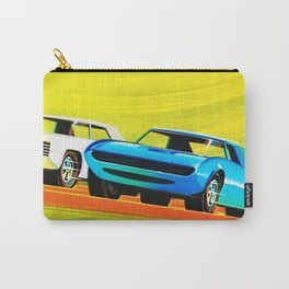 Vintage Hot Wheels Collector's Redline Poster Carry-All Pouch