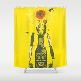 ALWAYS BE GROWING Shower Curtain