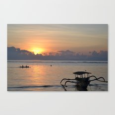 Quiet Sunrise Canvas Print