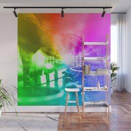 God is a DJ Wall Mural