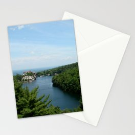 The Lake and The House Stationery Cards